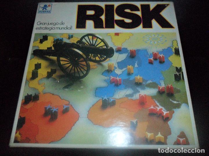 RISK DE BORRAS - INCOMPLETO - 70'S (Juguetes - Juegos - Juegos de Mesa)