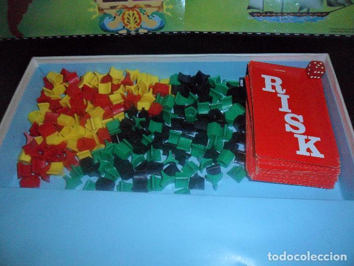 Juegos de mesa: RISK DE BORRAS - INCOMPLETO - 70S - Foto 2 - 115017007