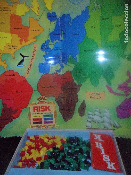 Juegos de mesa: RISK DE BORRAS - INCOMPLETO - 70S - Foto 3 - 115017007