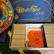 Juegos de mesa: JUEGO DE MESA MULTI TEST 6000. Lote 115070348