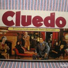 Juegos de mesa: JUEGO DE CLUEDO DE BORRAS. Lote 115275935