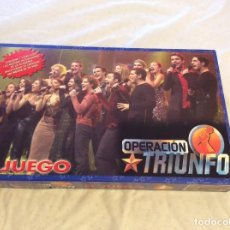Juegos de mesa: EL JUEGO....OPERACION TRIUNFO.NUEVO. Lote 115394591