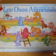 Juegos de mesa: ANTIGUO JUEGO LOS OSOS AMOROSOS AÑOS 80. Lote 115398779