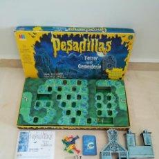 Juegos de mesa: JUEGO PESADILLAS TERROR EN EL CEMENTERIO DE MB. Lote 115400871