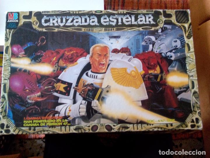 CRUZADA ESTELAR MB (Juguetes - Juegos - Juegos de Mesa)