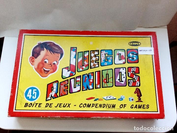 Juegos Reunidos Geyper 45 Anos 80 Serie Nino Pe Comprar Juegos De