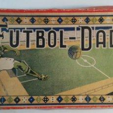 Juegos de mesa: FÚTBOL - DADOS. MUY RARO JUEGO DE MESA. COMPLETO. Lote 116440687