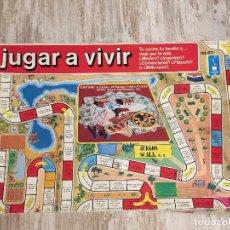 Juegos de mesa: JUEGO MESA JUGAR A VIVIR, SCALA. Lote 116479243