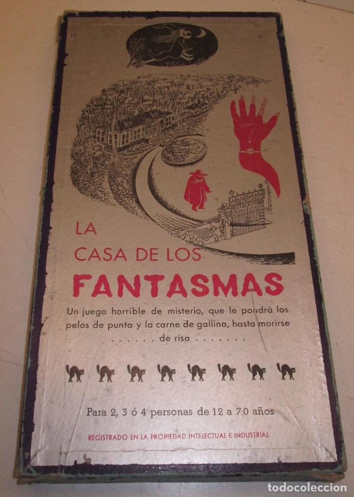 Juego De Mesa La Casa De Los Fantasmas Juegos Comprar Juegos De