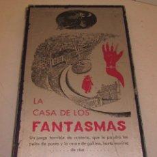 Juegos de mesa: JUEGO DE MESA LA CASA DE LOS FANTASMAS, JUEGOS CRONE, AÑO 1962. Lote 116486392