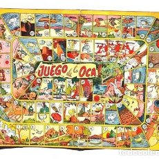 Juegos de mesa: ANTIGUO JUEGO DE A OCA. Lote 116513915
