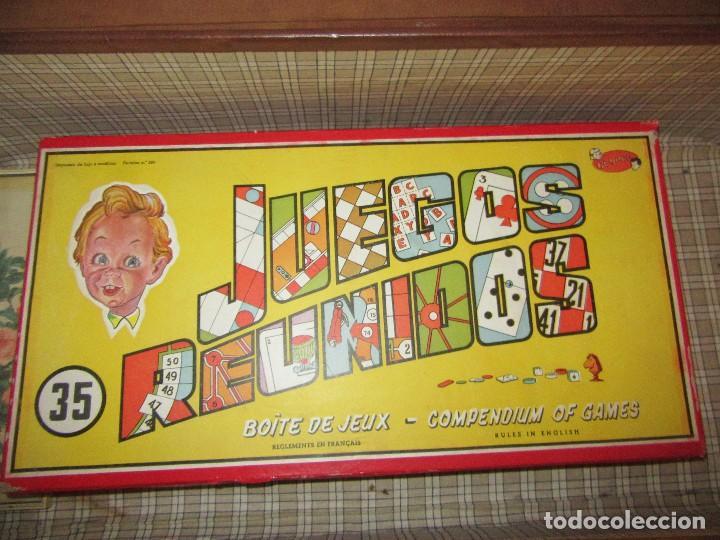 JUEGOS REUNIDOS JEYPER (Juguetes - Juegos - Juegos de Mesa)