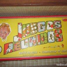 Juegos de mesa: JUEGOS REUNIDOS JEYPER. Lote 135289923