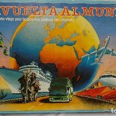Juegos de mesa: JUEGO DE MESA, LA VUELTA AL MUNDO, EDUCA. Lote 116709023