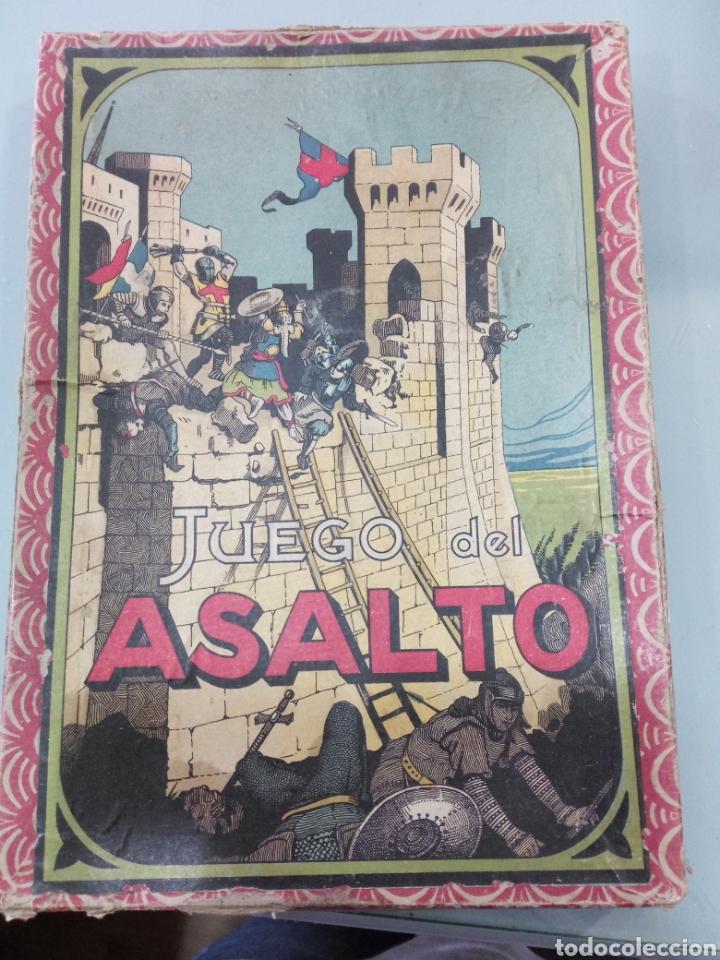 JUEGO ANTIGUO JUEGO DEL ASALTO (Juguetes - Juegos - Juegos de Mesa)