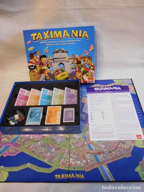 Juego De Mesa Taximania De Goliath Muy Diverti Comprar Juegos De