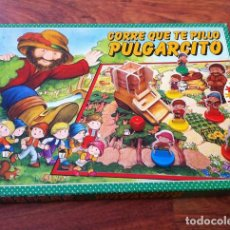 Juegos de mesa: JUEGO DE MESA CORRE QUE TE PILLO PULGARCITO, DE EDUCA. Lote 117513579