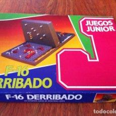 Juegos de mesa: JUEGO DE MESA F-16 DERRIBADO, DE CEFA JUEGOS JUNIOR. Lote 117514359
