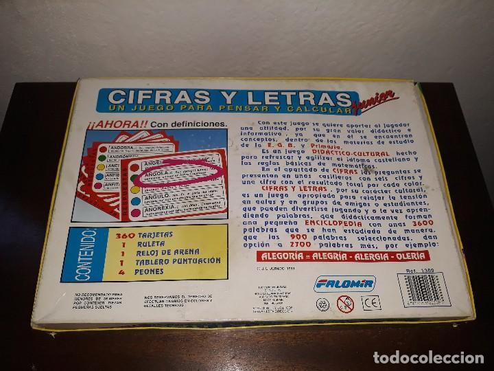Juegos de mesa: Cifras y letras Junior - Foto 2 - 117704803