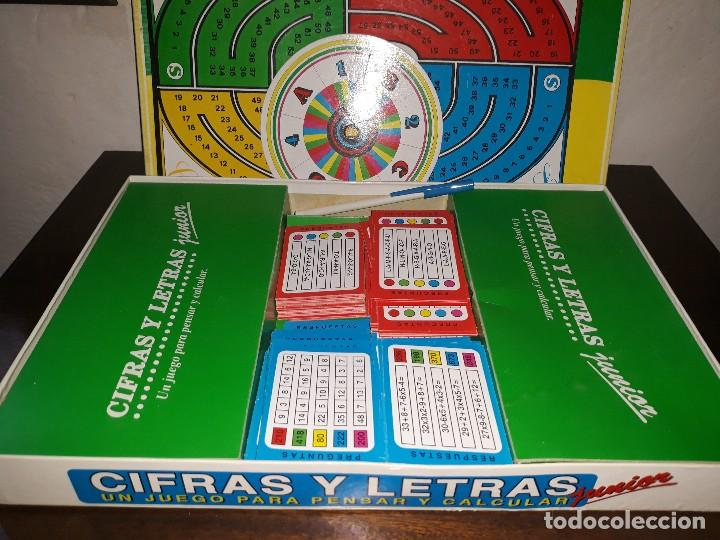 Juegos de mesa: Cifras y letras Junior - Foto 3 - 117704803