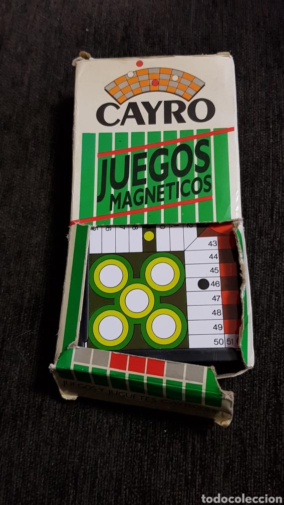 JUEGOS MAGNÉTICOS CAYRO AÑOS 80'S (Juguetes - Juegos - Juegos de Mesa)