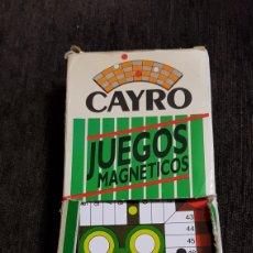 Juegos de mesa: JUEGOS MAGNÉTICOS CAYRO AÑOS 80'S. Lote 118069208