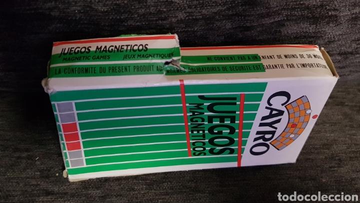 Juegos de mesa: Juegos magnéticos Cayro años 80s - Foto 2 - 118069208