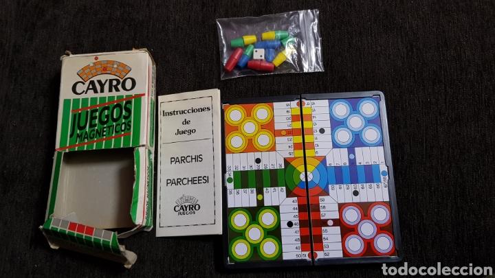 Juegos de mesa: Juegos magnéticos Cayro años 80s - Foto 3 - 118069208