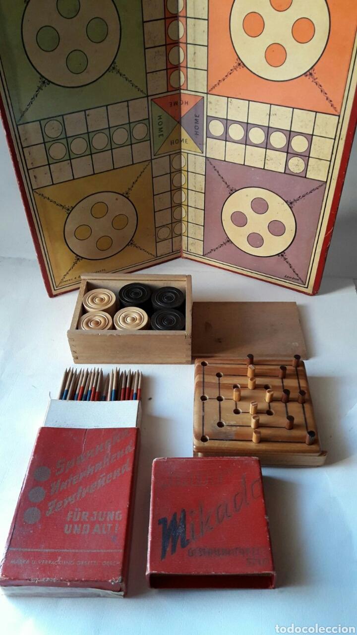 Varios Juegos Antiguos De Mesa Uno Aleman Y Otr Comprar Juegos De