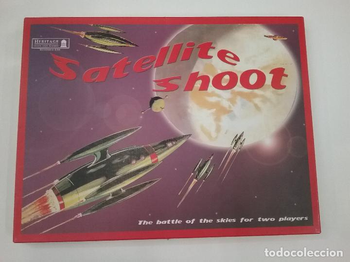 SATELLITE SHOOT - JUEGO DE MESA ESPACIAL PARA DOS JUGADORES - 2006 (Juguetes - Juegos - Juegos de Mesa)