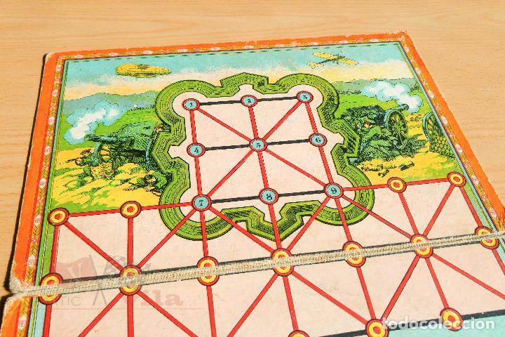 Juegos de mesa: Juego de Mesa Antiguo - Asalto - Años 20 - Foto 2 - 118498275