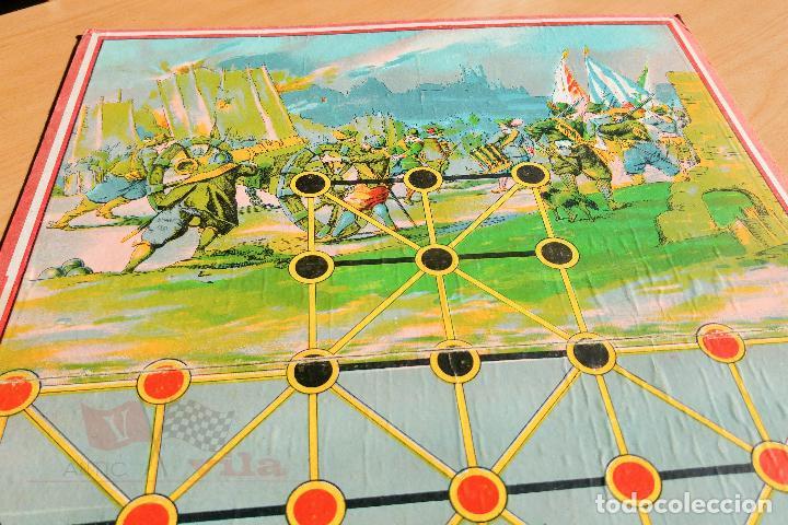 Juegos de mesa: Juego de Mesa Antiguo - Asalto - Años 20 - Foto 2 - 118498999