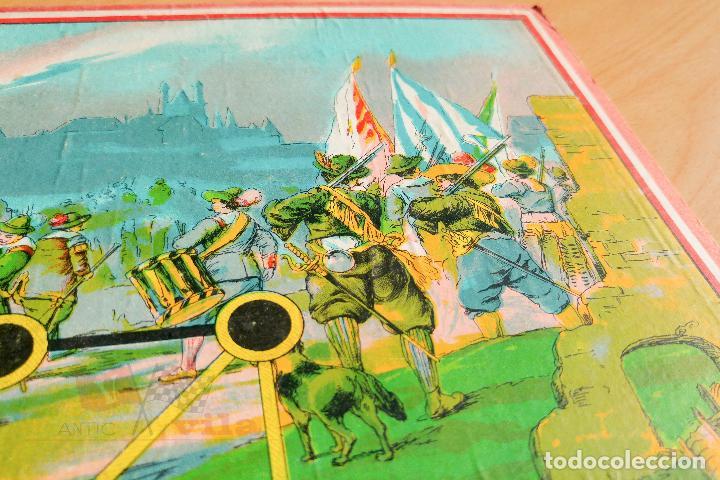 Juegos de mesa: Juego de Mesa Antiguo - Asalto - Años 20 - Foto 3 - 118498999