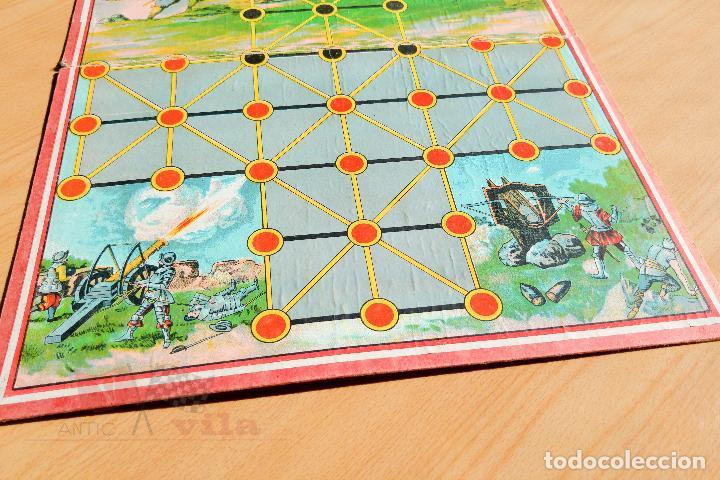 Juegos de mesa: Juego de Mesa Antiguo - Asalto - Años 20 - Foto 4 - 118498999