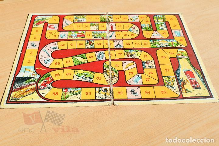Juego De Mesa Antiguo Carreras De Coches An Comprar Juegos De
