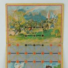 Juegos de mesa: TABLERO DE JUEGO DE MESA ASALTO EN CARTÓN . Lote 118618271