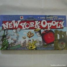 Juegos de mesa: NEW YORK-OPOLY (JUEGO TIPO MONOPOLY) - MADE IN USA - PRECINTADO. Lote 118741019