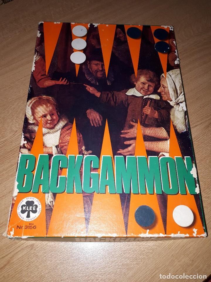 BACKGAMMON (Juguetes - Juegos - Juegos de Mesa)