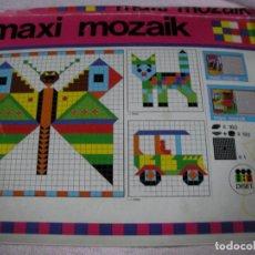 Juegos de mesa: JUEGO DE MESA MAXI MOZAIK. Lote 118799423