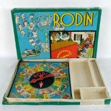 Juegos de mesa: JUEGO DE MESA RODIN TRANSPORTES RELÁMPAGO AÑOS 50. Lote 118822275