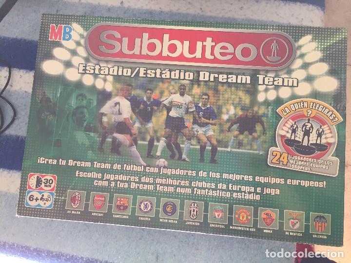Subbuteo Estadio Dream Team Mb Hasbro Kreaten Comprar Juegos De