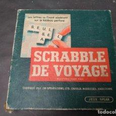 Juegos de mesa: JUEGO DE VIAJE SCRABBLE, VINTAGE, VERSION FRANCESA. Lote 119044239