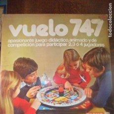 Juegos de mesa: VUELO 747 DE MAKO - COMPLETO A FALTA DE LAS INSTRUCCIONES -. Lote 119065599