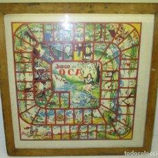 Juegos de mesa: ANTIGUO TABLERO PARCHIS / OCA. Lote 119264762