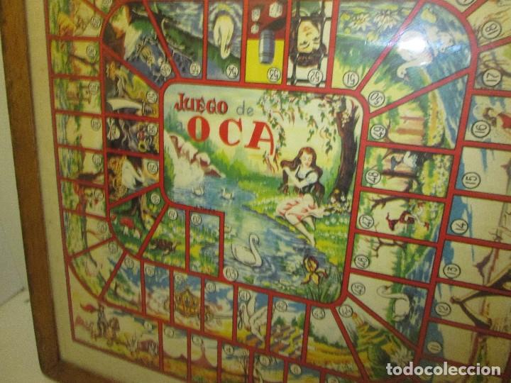 Juegos de mesa: antiguo tablero PARCHIS / OCA - Foto 3 - 119264762