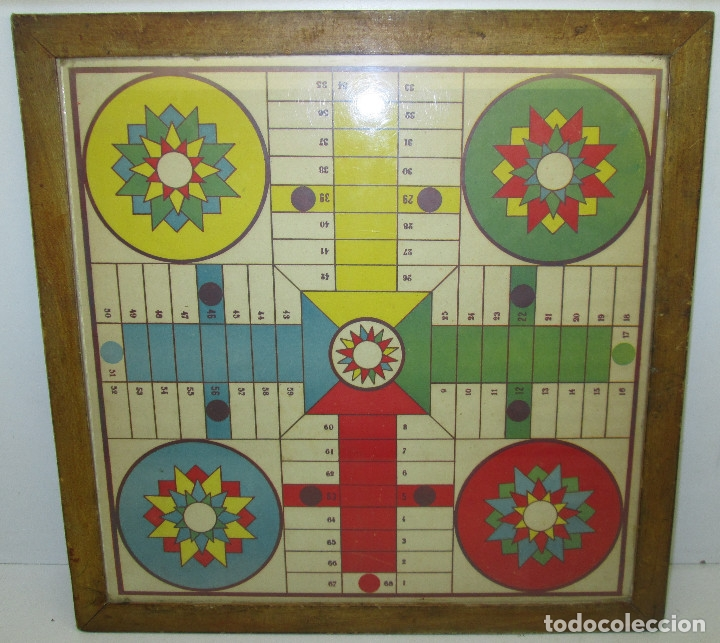Juegos de mesa: antiguo tablero PARCHIS / OCA - Foto 2 - 119264762