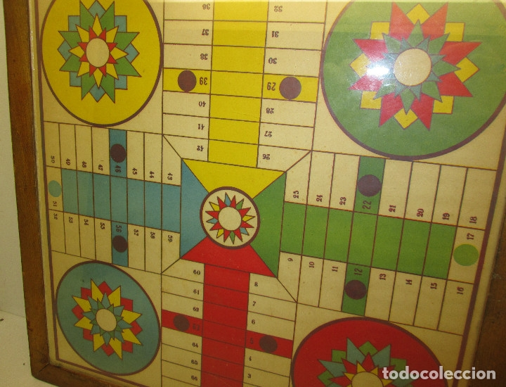 Juegos de mesa: antiguo tablero PARCHIS / OCA - Foto 4 - 119264762