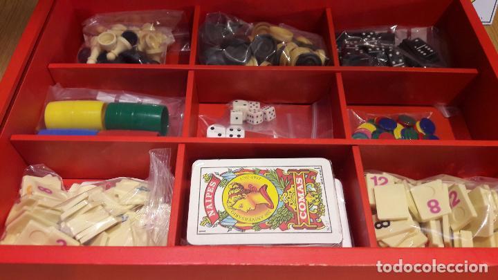 Juegos de mesa: 365 JUEGOS / 1 PARA CADA DÍA DEL AÑO / JUGUETES CAYRO / COMPLETO EN CAJA DE MADERA. - Foto 3 - 119286247