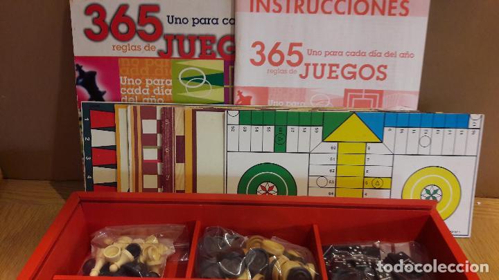 Juegos de mesa: 365 JUEGOS / 1 PARA CADA DÍA DEL AÑO / JUGUETES CAYRO / COMPLETO EN CAJA DE MADERA. - Foto 5 - 119286247