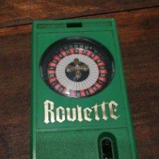 Juegos de mesa: JUEGO BOLSILLO ROULETTE- EPOCHCO.,LTD 1976- HONG KONG.. Lote 119308271